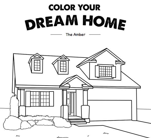 helpful hint want to make your new home search even easier bring these coloring sheets along to occupy your children during model and quick move in home