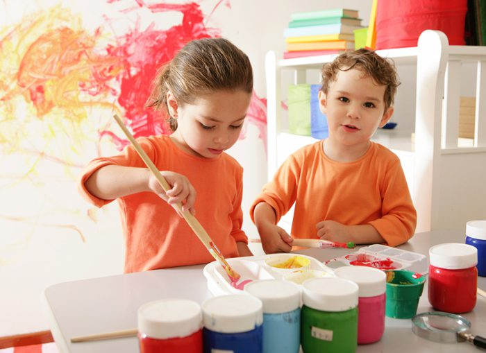 kids' rooms (painting)