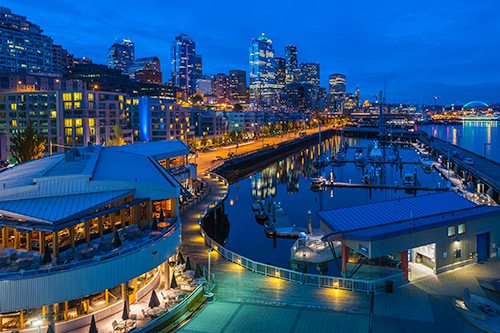 Seattle harborside