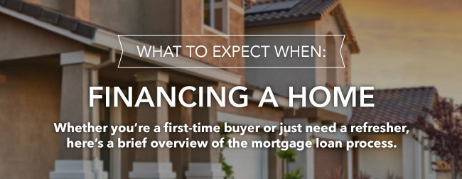 What to expect when financing a home