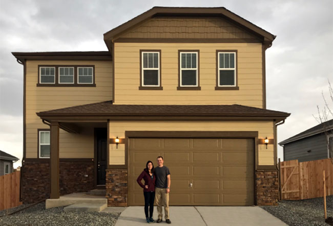 """Consider your budget and which upgrades to invest in."" -<a href=""https://www.richmondamerican.com/blog/richmond-american-superintendent-becomes-homeowner/"" target=""_blank"" rel=""noopener noreferrer"">Chris</a> in Castle Rock, Colorado"