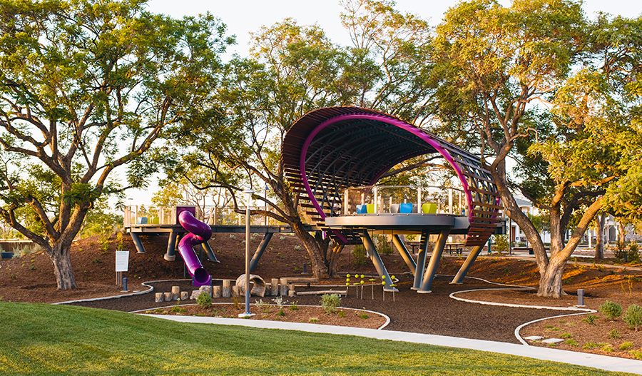 Playgrounds, parks & trails