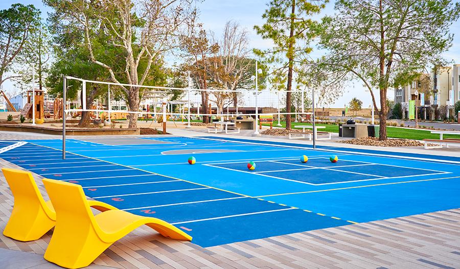 Athletic facilities for basketball, baseball, soccer & more