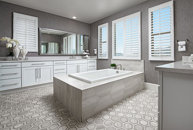 Turning your master bath into a spa