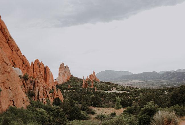 Garden of the Gods, Colorado Springs - Photo courtesy of Clark Tibbs, Unsplash