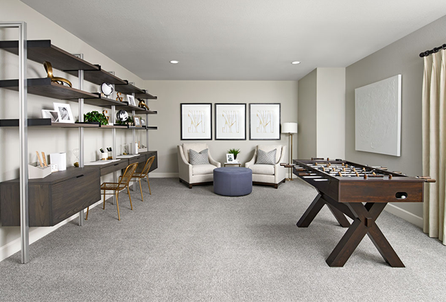 <h3 style='color:#ffffff;'>Flex Space</h3>A flex space can be used for a variety of purposes, including a home office, <a href='https://www.pinterest.com/pinsbyra/home-gym-ideas/' target='_blank' rel='noopener noreferrer'>home gym</a> or playroom! You can set up one or more desks if you have multiple people working from home or use it as a place for kids to work and play.