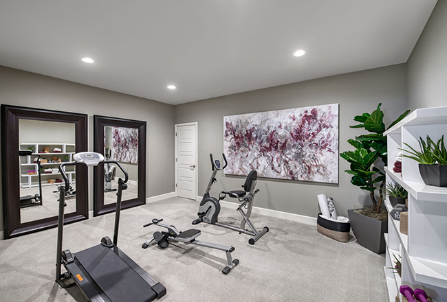 Dreaming Of A Home Gym Make It Happen This Year Richmond American Homes
