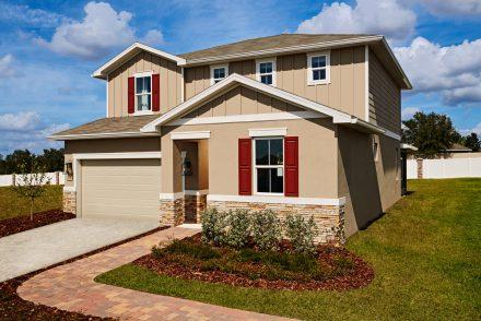 Ruby model home exterior