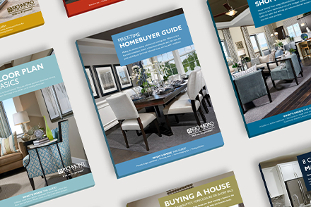 Images of homebuyer guide covers