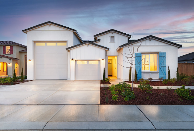 Our stunning ranch-style Deacon floor plan, featuring an attached UltraGarage®