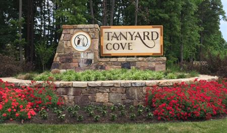 Entrance to the Tanyard Cove community in Maryland
