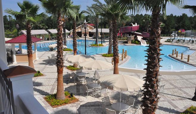 Community pool at Rolling Hills at Lake Asbury in Jacksonville