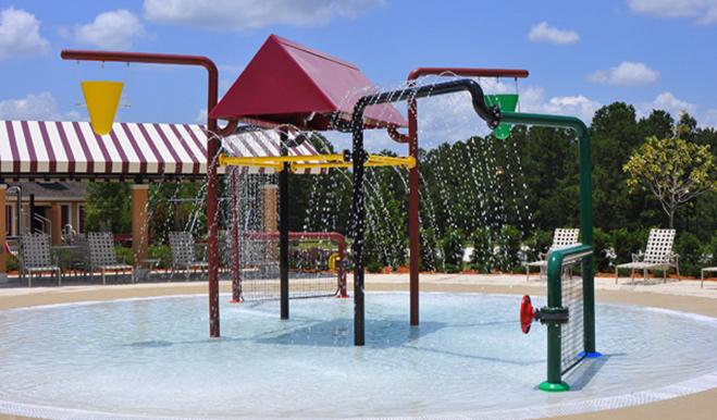 Community swim park at Rolling Hills at Lake Asbury in Jacksonville