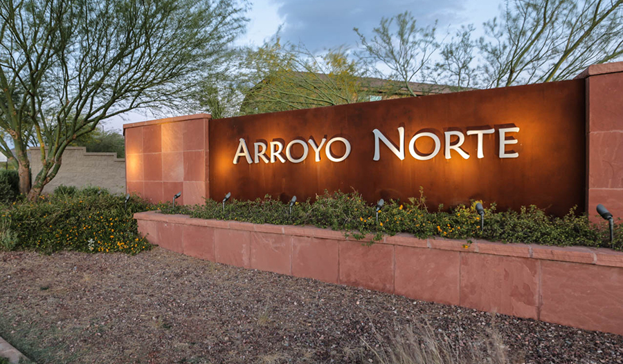 Arroyo Norte - Entrance
