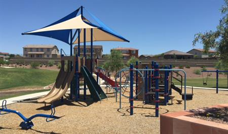 Playground at the Arroyo Norte community in Phoenix