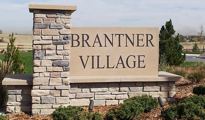Brantner Village - Entrance
