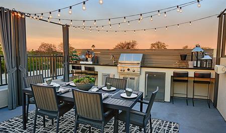 The Hancock – Rooftop terrace