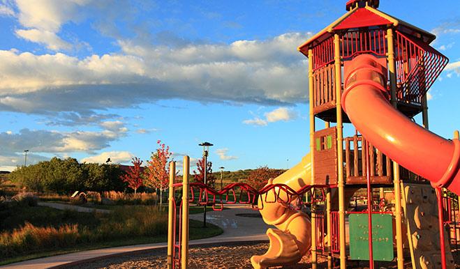 Crystal Valley - Playground