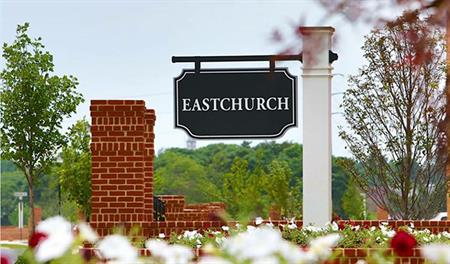 Entrance to the Eastchurch community in the Washington DC Metro area