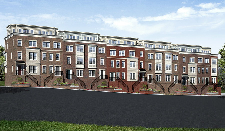 New homes at Federal Place in Baltimore