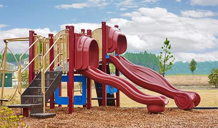 Community playground in Jacksonville