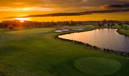 Golf course in The Estates at Harmony near Orlando