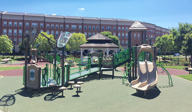 Playground in the Madison Crescent community