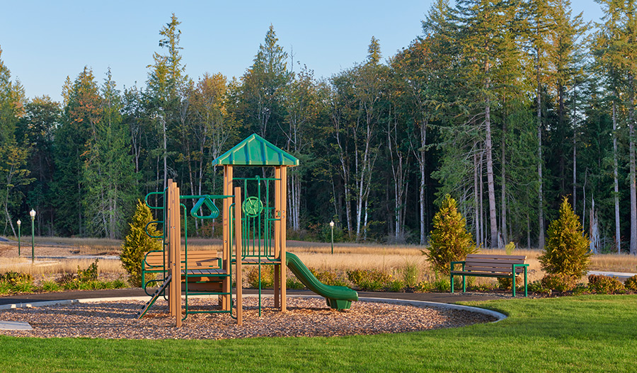 Playground at the Maple Hills community