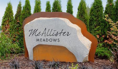 McAllister Meadows - Entrance