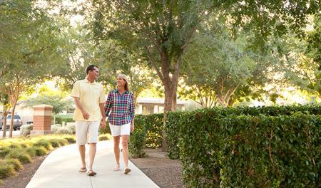Walking paths at Cascade at Marley Park