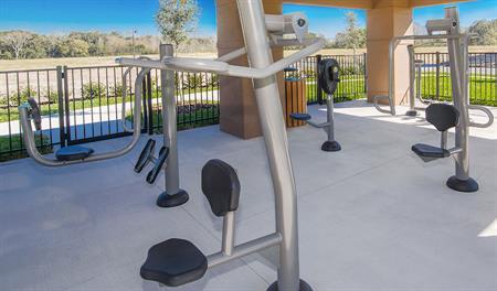 Roper Reserve - Outdoor fitness area