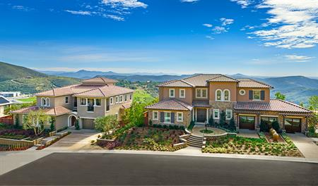 New homes at The Summit at San Elijo Hills