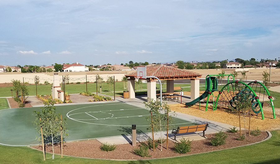 Playground at the Sunset Terrace community in Phoenix