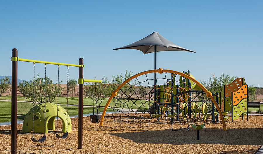 Community park at La Estancia in Tucson