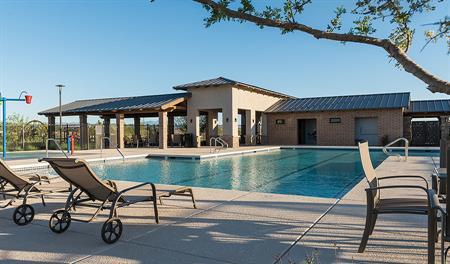 Community pool at La Estancia in Tucson