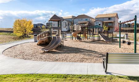 Community playground at Overlook at Cherry Creek