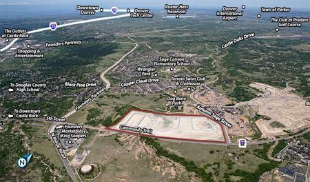 Terrain aerial map