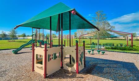 Playground at Highland Meadows community
