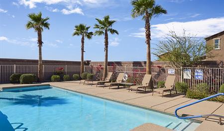Pool at Villas at Montana Vista community