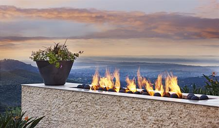 Fire feature at The Summit at San Elijo Hills community