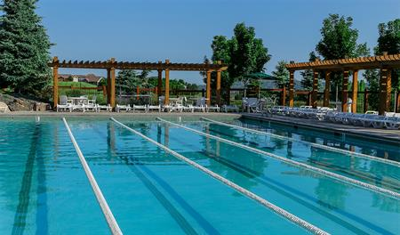 Community pool at Cityscapes at the Meadows in Denver
