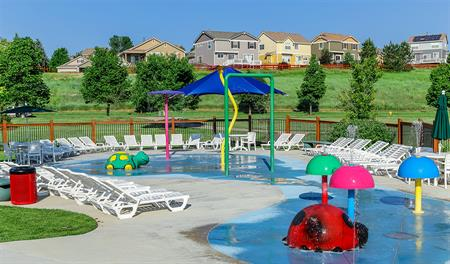 Kids pool at Cityscapes at the Meadows in Denver