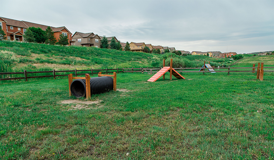 Playground at Cityscapes at the Meadows in Denver