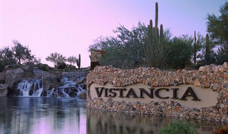 Entrance to the Vistancia community in Phoenix