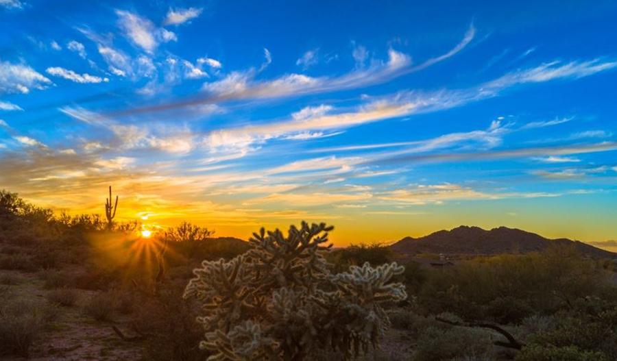 Sunrise at Canyon Ridge Estates in Phoenix
