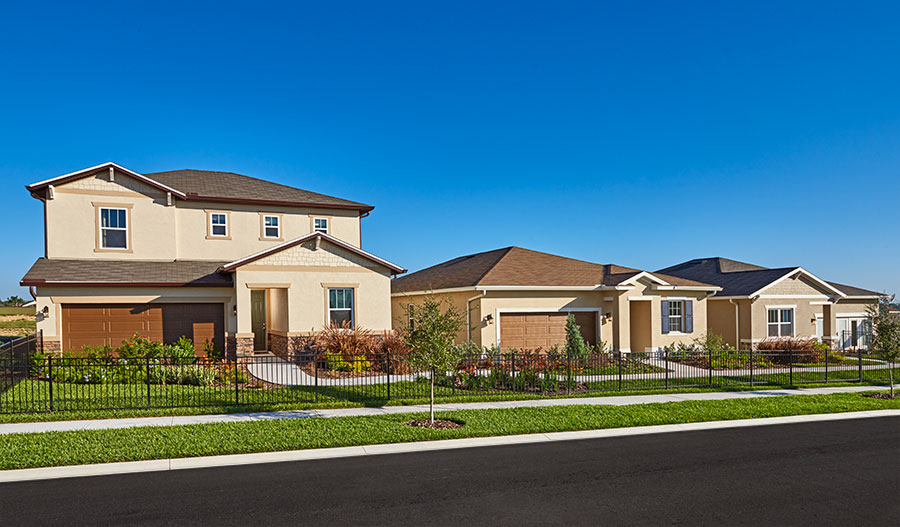 New homes at Summers Corner in Orlando