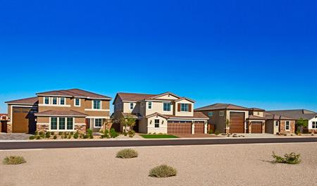 New homes at Tuscano in Phoenix