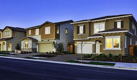 New homes at Inspirato at Mountain House in Southern California