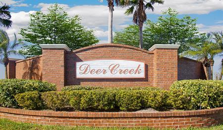 Entrance to Deer Creek in Orlando