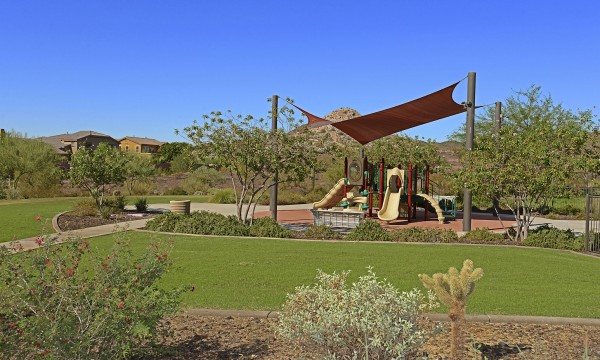 Community playground at Senita Trails at Vistancia in Phoenix